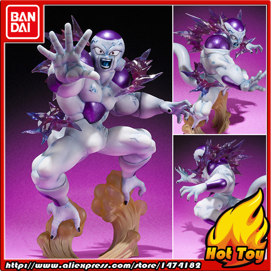 100% Original BANDAI Tamashii Nations Figuarts ZERO Action Figure - Freeza (Frieza) Final Form from Dragon Ball Z cmt original bandai tamashii nations s h figuarts shf dragon ball db kid son gokou action figure anime figure pvc toys figure