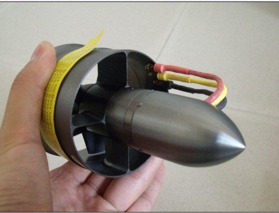 68 мм вентилятор с электроприводом с двигателя(кв 4370. Kv3900 и кв 3575