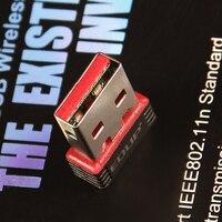 мини 150 м беспроводной беспроводная с USB 150 мбит адаптер стандарта IEEE 802.11 N в сети локальной сети карта для компьютер и сеть 8060