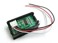 """5 шт./лот 0.56 """" постоянное напряжение монитор постоянного тока 0 - 99.9 в зеленый из светодиодов цифровой вольтметр постоянного тока трехпроводной вольт тест # 090125"""