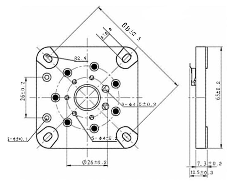 10pcs Ceramic U7g Tin Plated 7pin Tube Sockets Base Used Audio Diy
