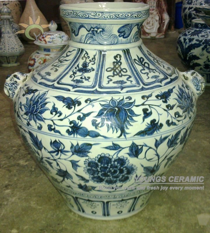 Aliexpress Buy Old Chinese Yuan Dynasty Hand Painted Blue