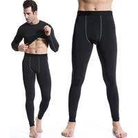 Marka mężczyźni kalesony męskie ciepłe spodnie cienka elastyczna linia z moda męska bawełna druku seksowna bielizna mocno legging długie kalesony