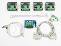 Free Shipping CNC 4 Axis TB6560 Stepper Motor Driver Controller Board Kit 57 Two Phase 3A