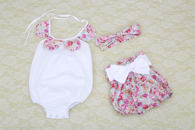 4b860e42c915 boutique baby romper 2016 new lovely baby girls clothes set newborn baby  girls romper New Hot Summer Baby Girls Clothing Set-in Rompers from Mother    Kids ...