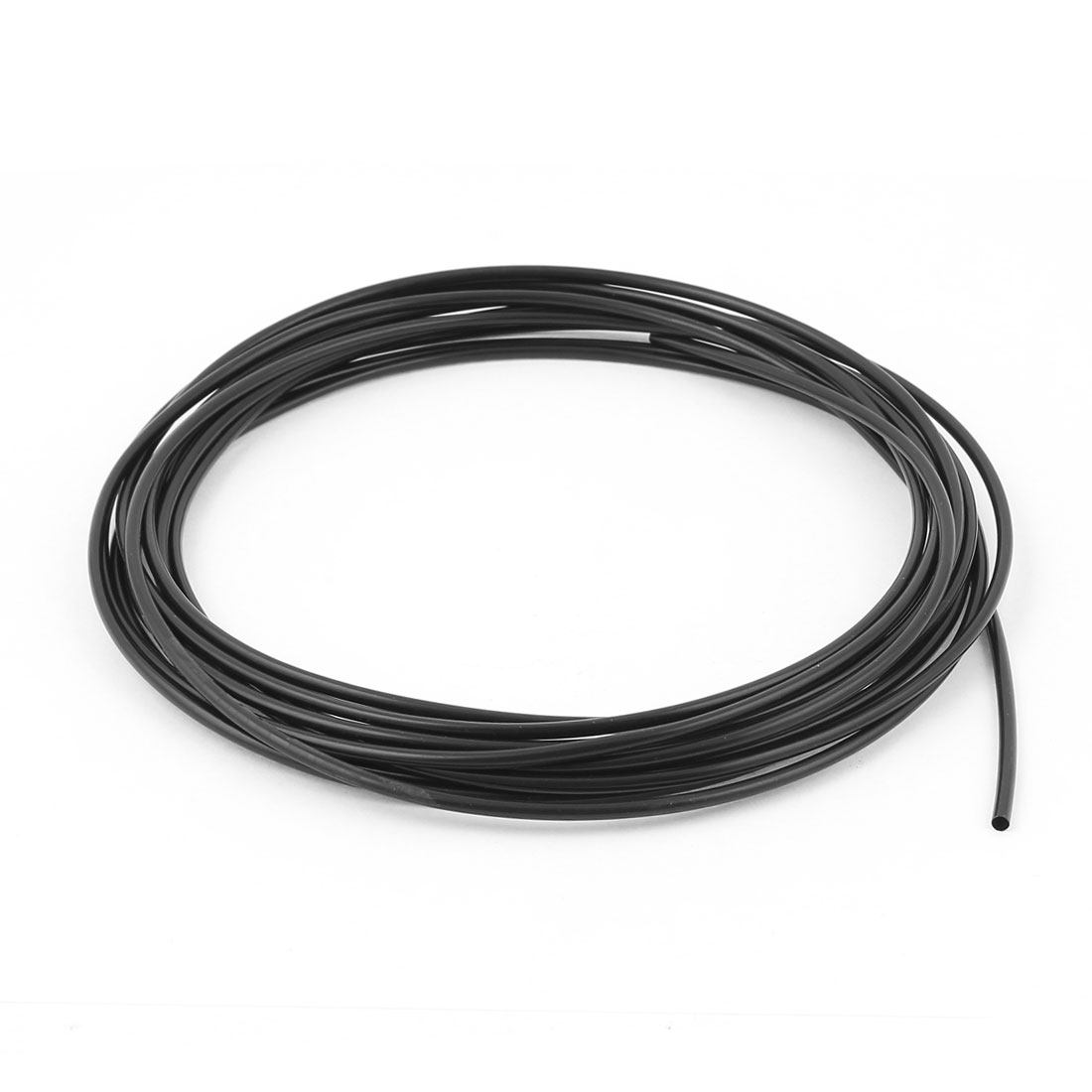 Uxcell Od 2Mm Dia Polyolefin Ratio 2:1 Heat Shrink Tubing Tube Wire Wrap Black .10m4m5m6m9m