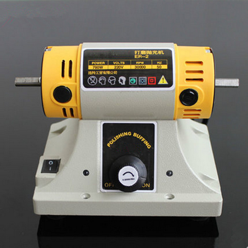 Astonishing Us 269 9 220V 700W Polishing Machine Bench Buffer Polisher Grinder Buffing Power Tool In Polishers From Tools On Aliexpress 11 11 Double Spiritservingveterans Wood Chair Design Ideas Spiritservingveteransorg