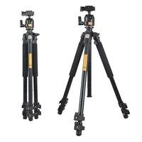 QZSD Q304 Камера штатив жидкости демпфирования Ballhead профессиональный телескоп стабильный Алюминий 360 видео Камера штатив Камера Интимные аксе