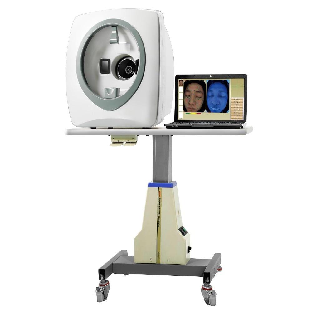 Micro machine Skin Diagnosis System with skin analysis report skin analyzer in Aliexpress