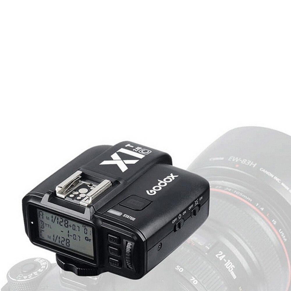 Godox X1C T 2.4 GHz Kablosuz Flaş Tetik Verici Canon DSLR için 1/8000 s HSS TTL 32 Kanal Deklanşör Tüketici Elektroniği -