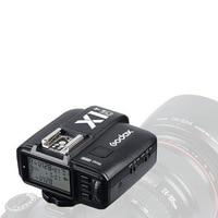 Godox x1c t transmissor de 2.4 ghz sem fio flash gatilho para canon hss ttl dslr 1/8000 s 32 canais wireless flash trigger flash trigger wireless flash transmitter -