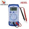 A830L LCD Digital Multimeter DC AC Voltage Diode Freguency Multitester Volt Tester Test Current