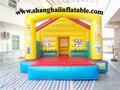Preço barato de alta qualidade grande trampolim inflável casa do salto de plástico ao ar livre playground para venda
