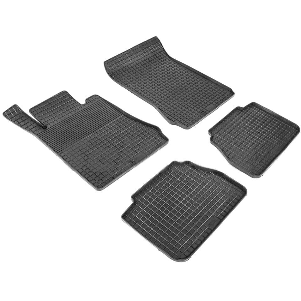 Rubber grid floor mats for Mercedes-Benz E-class W210 1995 1996 2000 2001 2002 Seintex 86790 платье catimini catimini ca053egahsu8