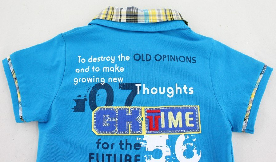 91136a80016d ... Free shipping active boys summer shirt