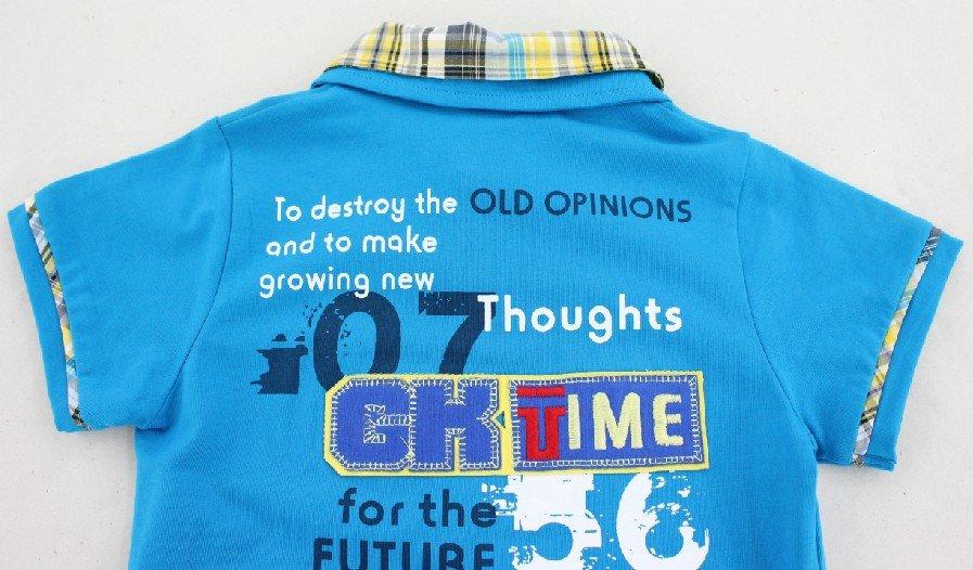 7f79ca796 Free shipping active boys summer shirt