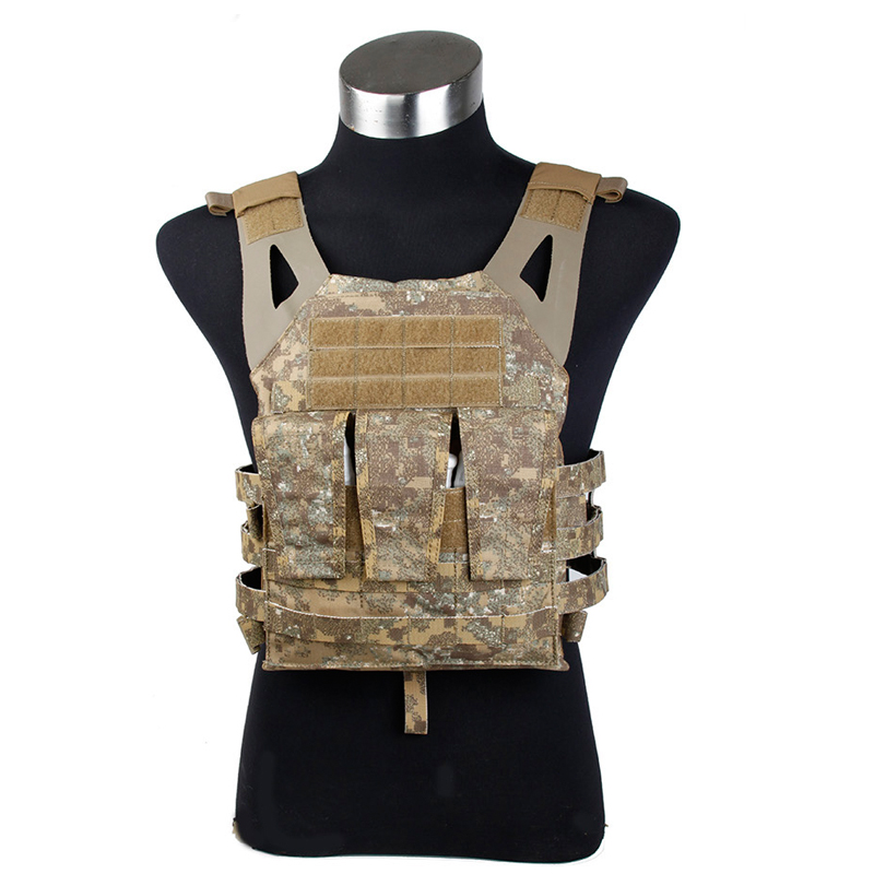 Badlands Gen2 Jim Pate Carrier PenCott Badlands Tactical vest for airsoft Navy Jump Plate Carrier