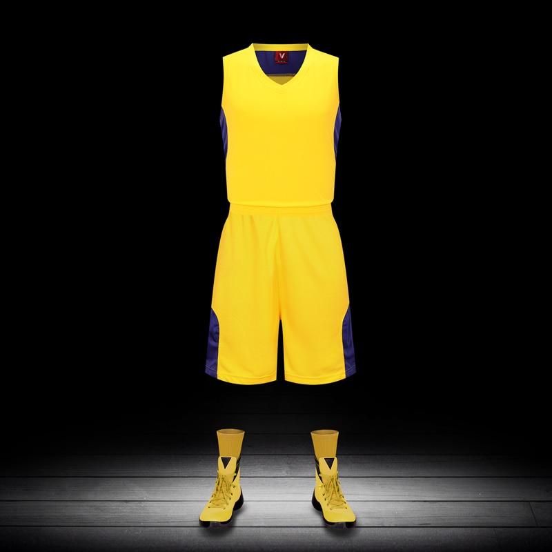 b4b802f043 نوعية جيدة ، أي كرة السلة جيرسي ويمكن تصميم طباعة أي اللون نمط الرجال  basquete جيرسي شورت كرة السلة القصير الفانيلة
