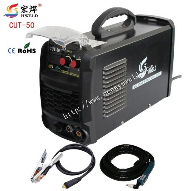 HWELD Digital  Inverter Weld CUT50 Inverter Air Plasma Cutting Machine 220V