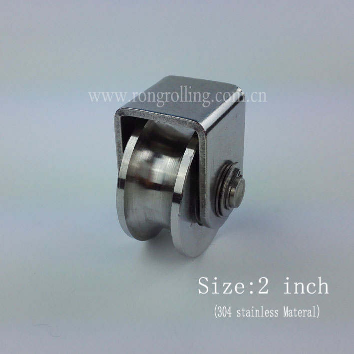 CNBTR M12 50 x 50mm PP Steel Roller Bearing Guiding Wheel with 6201 Bearing Insert for Electric Gate Pack of 2