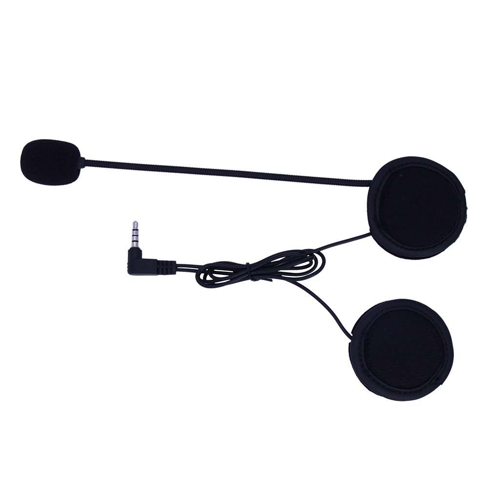 2018 3,5mm Jack Mikrofon Lautsprecher Headset Und Helm Intercom Clip für Motorrad Bluetooth Gerät EJEAS V6 V6 PRO