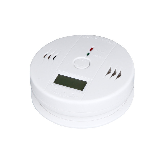 2016 NEW High Sensitive LCD Carbon Monoxide Detector Tester Fire Alarm CO Poisoning Monitor CO Detector For Home Security Safety