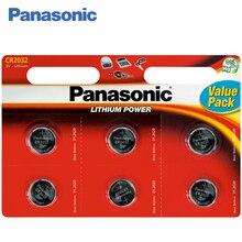 Panasonic CR-2032EL/6BP Батарейки 6 штук Lithium Power 3 В. Предназначены для использования в напольных и кухонных весах, калькуляторах, переносной электронике, часах, пультах автосигнализации