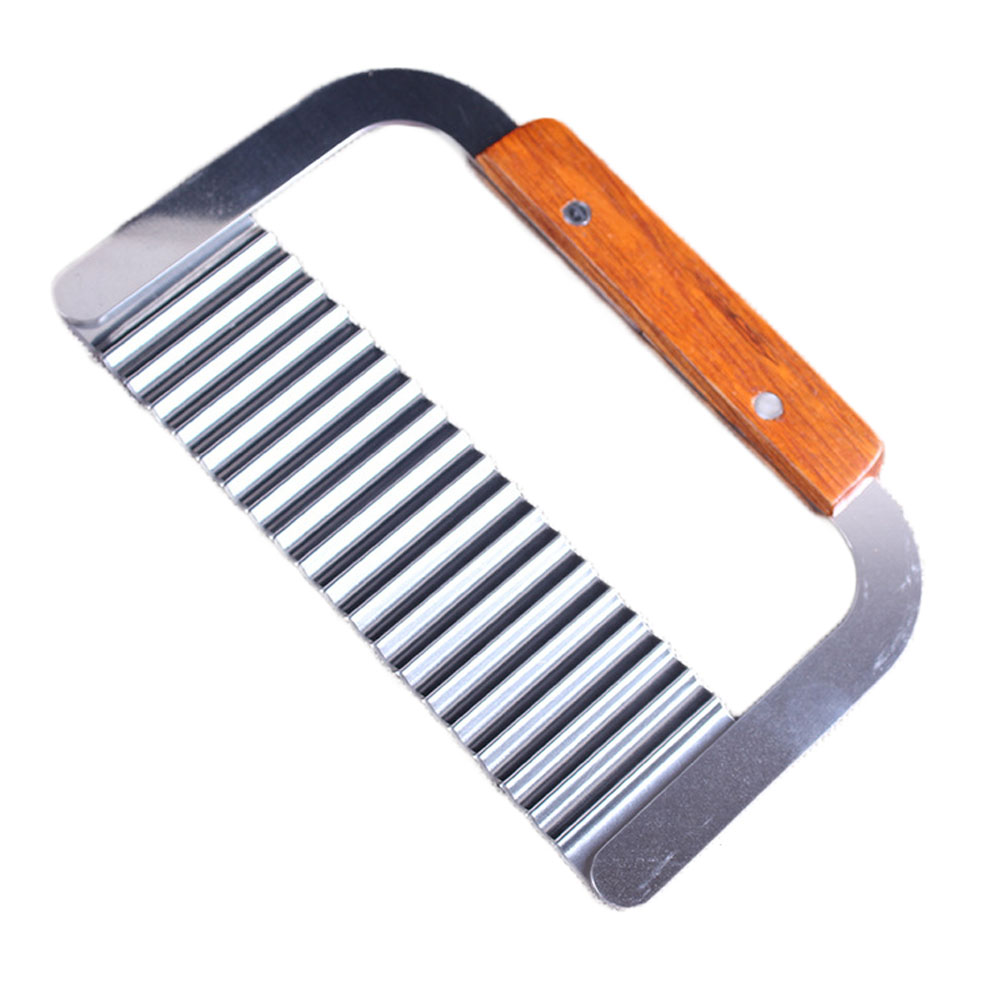 popular wave knife buy cheap wave knife lots from china wave knife new wave potato cutter stainless steel kitchen accessories banana slicer french fries chips wave knife chopper