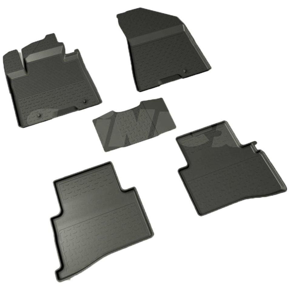 For Kia Sportage QL 2016-2019 rubber floor mats into saloon 5 pcs/set Seintex 87192 for ravon r4 2016 2019 rubber floor mats into saloon 5 pcs set seintex 82910