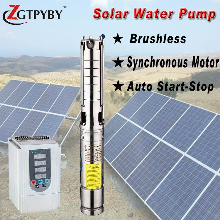 Deep Well To Solar Pump Kit Exported To 58 Countries Solar Water Pump Irrigation Free Shipping