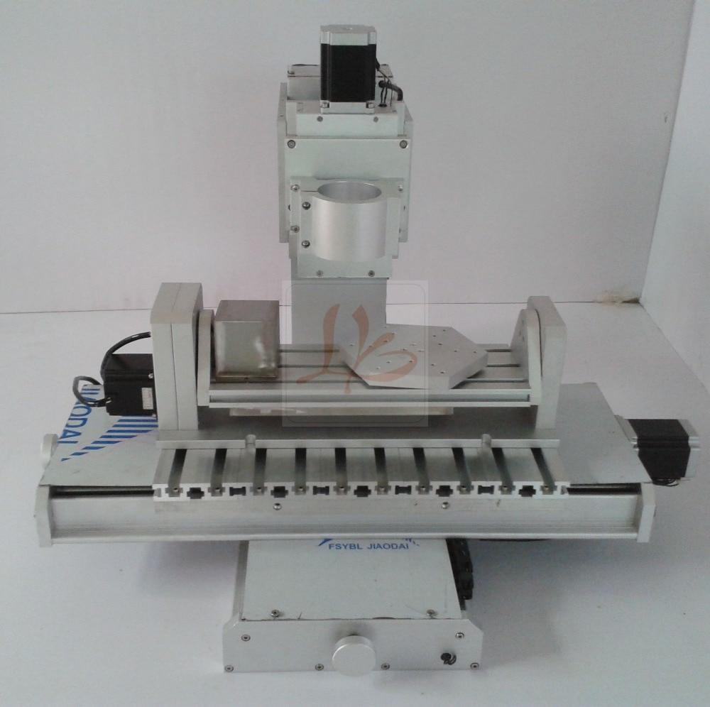 все цены на 3040 five axis frame column CNC high precision ball screw CNC engraving machine industrial 5 axis pillar type engrave machine онлайн