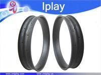 IPLAY Toray T700 углерода 26 ''100 мм ширина полный углерода Волокно жира Диски Велосипедный Спорт обода жир Снег велосипед обод