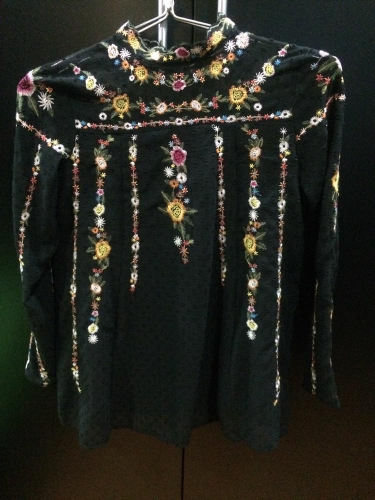 Очень крутая блузка копия Zara