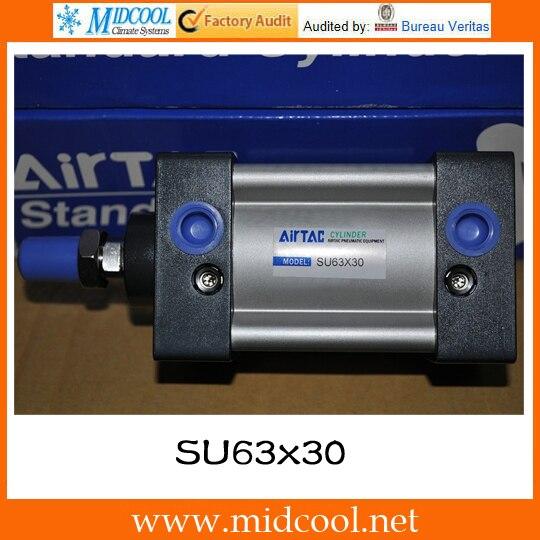 Original AirTAC  Standard cylinder(Profile) SU Series SU63x30 scj40x100 30 airtac standard cylinder