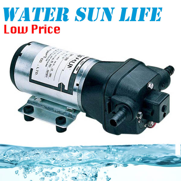 1 2L min Electric Water Pump 24V DC Brushless Micro Diaphragm Pump Centrifugal Water Pump DP