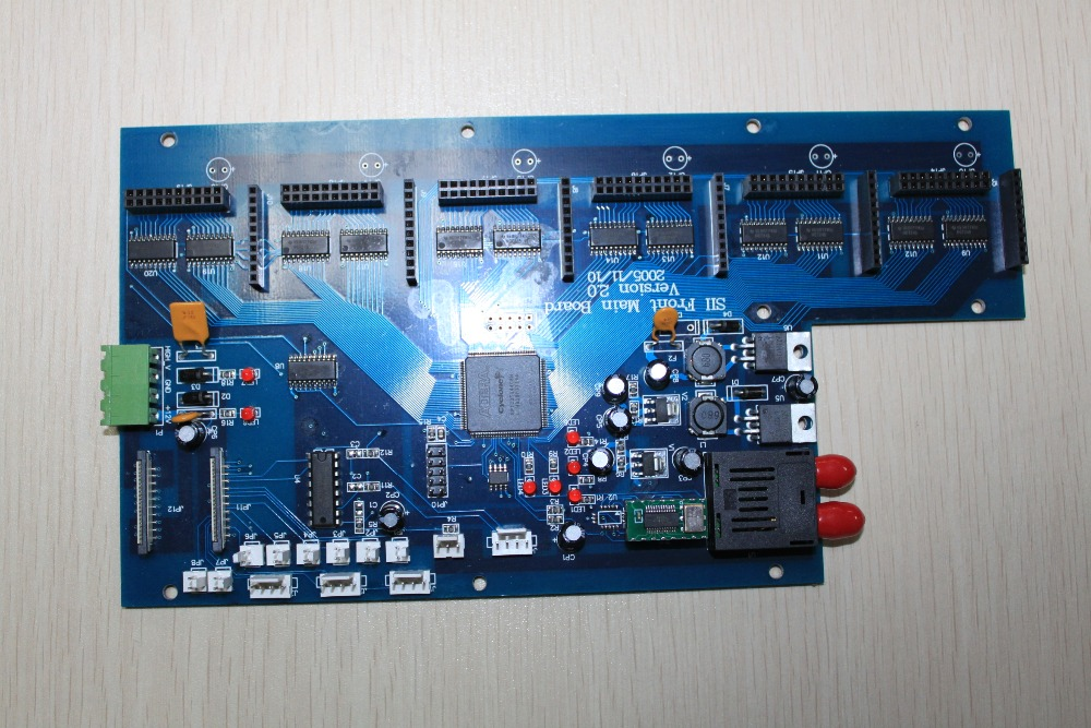 Spt 6th carriage board(optical fiber) printer parts original roland print carriage board w700241211 for fp 740 printer