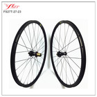 High end carbon wheels with Extralite hubs, 24/28H , Farsports 29er carbon clincher MTB bike wheelset 27mm x 23mm deep , UD matt