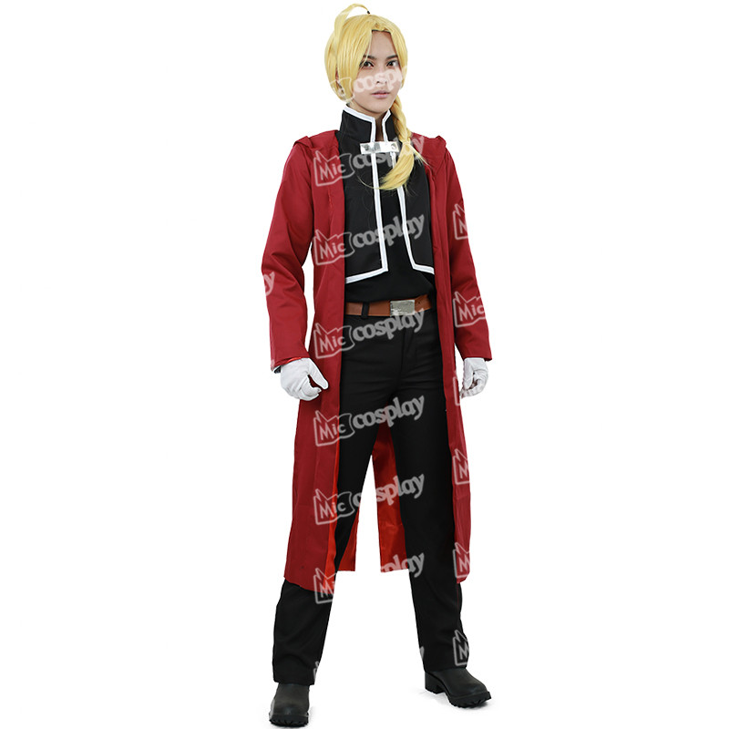Jacket Edward Elric Cosplay Large L *NEW* Fullmetal Alchemist Brotherhood