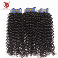 Brazilian Curly Virgin Hair Spiral Curl Hair 3pcs/lot 100% Human hair weave hair extensions for your nice hair free shipping