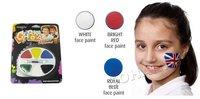 10 шт./лот красочные тела и лица краски 6 цветов составляют поддержка для чемпионата мира по футбольный украшения косплей спортивного события