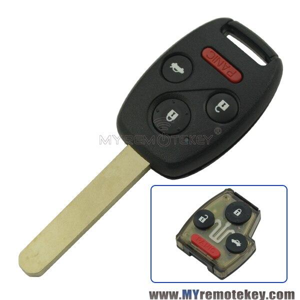 Prix pour Remtekey distance tête de la clé 3 bouton de panique 313.8 mhz id46 puce pour honda voiture accord clé 2003 2004 2005 2006 2007