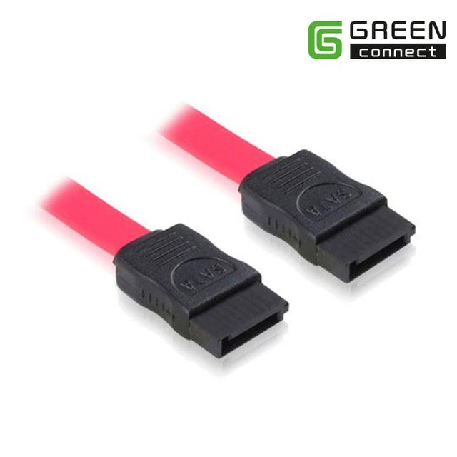 Greenconnect Serial ATA SATA 3 RAID Data HDD Hard Drive Disk Signal Cables Yellow Red Straight High Speed SATA Data Cable