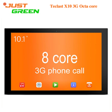 De calidad superior Original Teclast X10 3G 10 inch1280x800 Mini pc MT8392 Octa core1GB 16 GB 2MP HDMI OTG Android 5.1 Tablet PC Con GPS