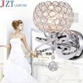 Современные Настенные светильники Crysatl Gloden для спальни  лестницы  круглые настенные светильники E14  светодиодные Настенные светильники  Рос...