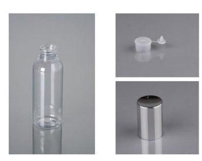 100 мл ПЭТ бутылка лосьона с электрохимический алюминиевая крышка, крем для рук контейнер PTG07