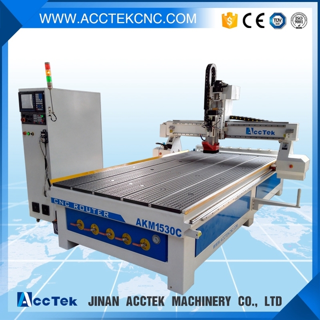Wood Router For Furniture AKM1530C With Atc Tool Change! Wooden Door  Manufacturing Machines