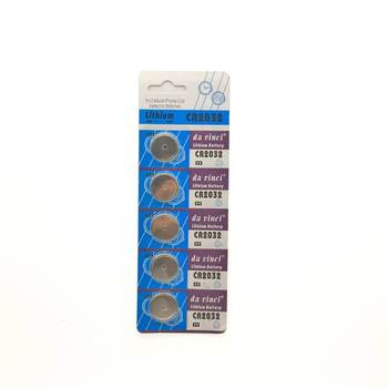5pcs/card 2032 CR2032 DL2032 Cr 2032 3V 210mAh Lithium Button Coin battery for watch ,toy image