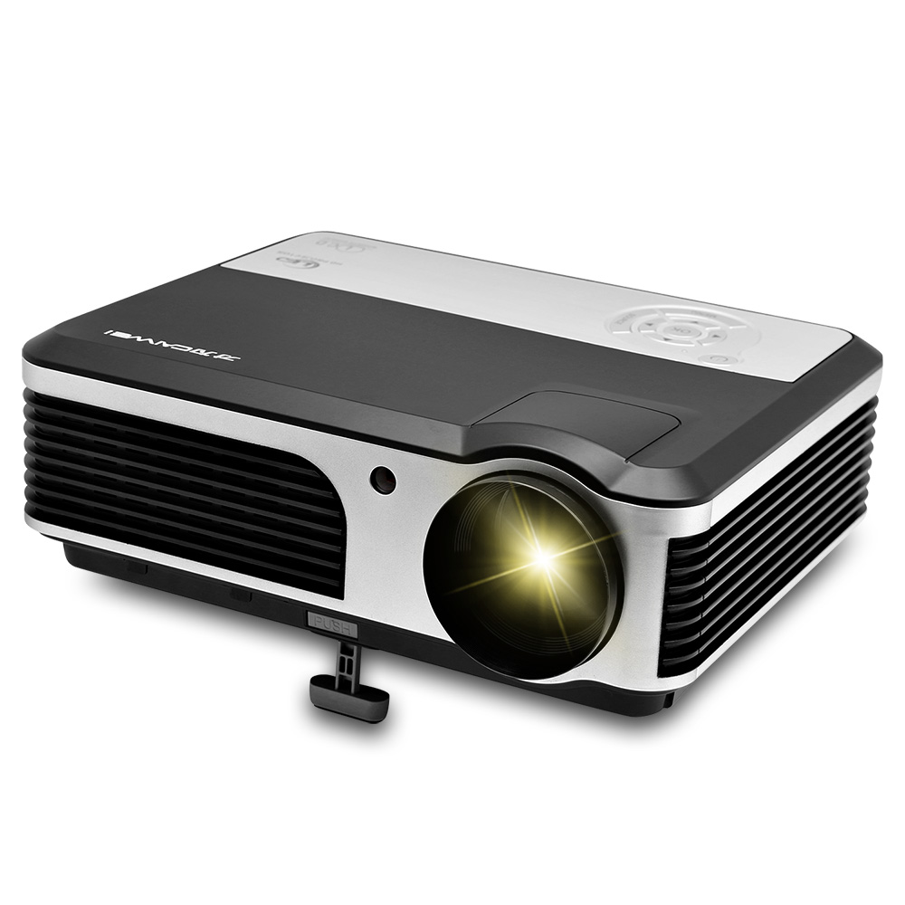 CAIWEI Home Theatre Digital LCD LED Projector 3800Lumens For home Cinema Video Games Projector USB AV