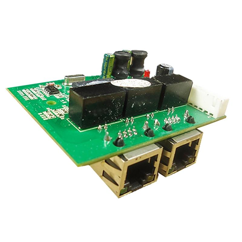 Promosi baru Gigabit Ethernet Beralih 2 Port RJ45 dengan 8 pin way - Peralatan jaringan - Foto 3