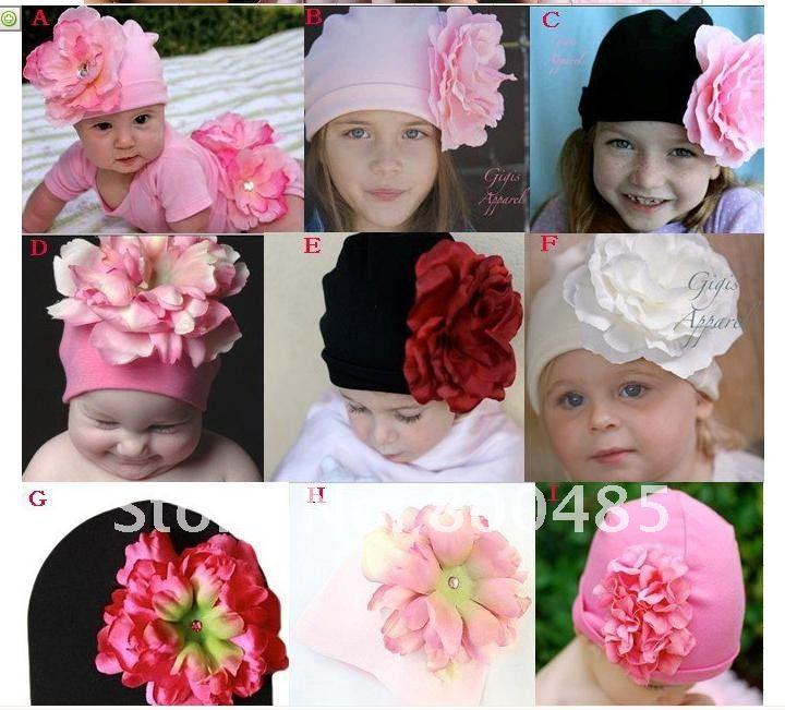 Популярные детские шапки! шапка для младенца и шапочка, цветок/одна шапочка